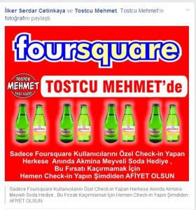 Tostcu mehmet foursquare